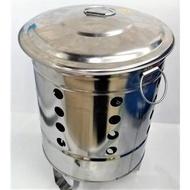 【東馬小舖】台灣製 430不鏽鋼 金爐 9吋 白鐵 金紙桶 燒金桶 燒金爐 燒金紙 拜拜
