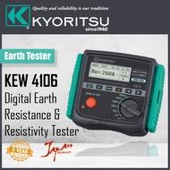 Kyoritsu KEW 4106 Digital Earth Tester (Made In Japan)