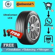205/55R16 - Continental UC6 (With Installation)