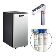 【德克生活】HS-68 櫥下冰冷熱三溫飲水機(日本恆溫陶瓷加熱器)