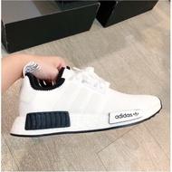 Adidas Nmd R 1 White Black Clover Adidas Nmd R 1