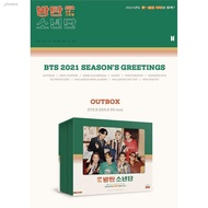 ☾₪BTS 2021 Season's Greetings