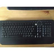 DELL 無線鍵盤 無注音標示,含鍵盤及無線收發器