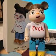 Action Figures Hobbies Toy 400% Bearbrick X Javier Calleja Girls Bearbrick