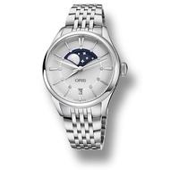 ORIS 豪利時  0176377234051-0781879  Artelier系列 Grande Lune日期鋼帶錶 / 白面 36mm