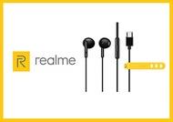 Realme 真我Buds Classic 原廠半入耳式耳機 黑 / Type C (盒裝)