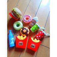 麥當勞辦家家酒組合玩具