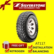 Silverstone 4X4 AT117 Special tyre tayar tire  (with installation) 265/70R16 YEAR 2019 CLEAR STOCK