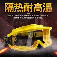 UVEX9301-613 護目鏡防塵防風防飛濺沖擊 消防耐高溫眼罩