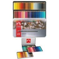 瑞士卡達 CARAN D'ACHE Pablo藝術專家級油性色鉛筆 (銀盒) 120色
