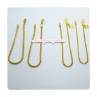916 emas double mesin / belut masdora pandora bracelet gelang rantai tangan