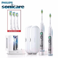 PHILIPS 飛利浦 加贈三支牙刷頭 音波電動牙刷組 HX6962 含紫外線殺菌燈座