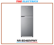 PANASONIC 450L ECONAVI INVERTER 2 DOOR TOP FREEZER FRIDGE NR-BD460VP / NR-BD460VPMY