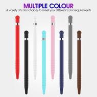 สีสันซิลิโคนหมวกเคล็ดลับฝาครอบแท็บเล็ต iPod Touch ปากกา Stylus POUCH สำหรับ Apple Pencil 1 สำหรับ iPad ดินสอ