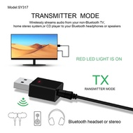 Chiclits Bluetooth Receiver Transmitter Bluetooth 5.0 Dongle AUX RCA USB 3.5mm Jack Audio Wireless A