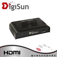 DigiSun VH528 BNC轉HDMI影音訊號轉換器