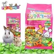 PettyMan 《PM-13 迷你兔營養主食飼料‧2.4kg》除尿臭高嗜口性