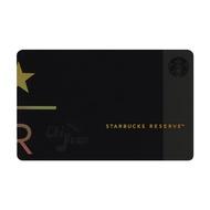 Starbucks 台灣星巴克 2018 STAR R Reserve 星星 典藏隨行卡