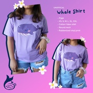 [PRE-ORDER] BATCH 2 BTS TINYTAN PURPLE WHALE SHIRT DREAM ON WITH FREEBIES