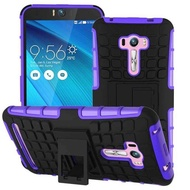 Newest Phantom Knight Armor Stand Hard Rugged Cover Silicon Phone Case for OPPO A5 / A3S 360 Full Protestion Back Cover for OPPO A5 / A3S