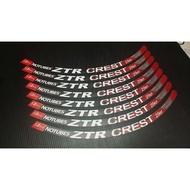 ZTR crest 2013 MTB wheelset decal sticker