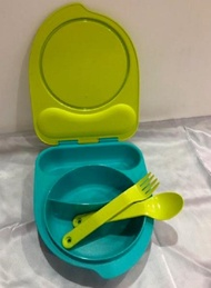 Tupperware Kiddos Lunch Box with cutlery set