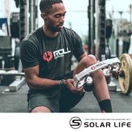 【索樂生活】Roll recovery R8手持式深層筋膜滾筒放鬆按摩器第二代(腿部放鬆器 肌肉滾輪 筋膜滾筒按摩器)