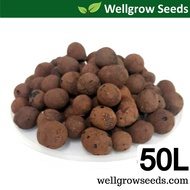 50L LECA 10-20mm (Clay Pebbles / Clay Balls / Hydroton) 陶粒(细)  for Hydroponics & Aquaponics / Mulching Use