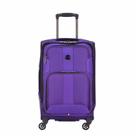 DELSEY Paris Delsey Luggage Sky Max Expandable Spinner Carry On, Purple