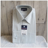 男生襯衫 MANHATTAN 美好挺 長袖 淺綠色 素面 領圍15.5吋 袖長85公分 原價2580 [玩泥巴]
