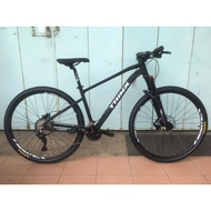 """29"""" -- Trinx M1200 Pro -- Shimano Deore 2 x 11 -- Alloy -- Air Fork with Lock -- Hydraulic Brake -- Mountain Bike"""
