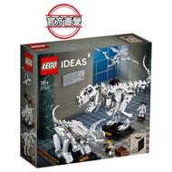 【LEGO 樂高】LEGO Ideas 恐龍化石(21320)