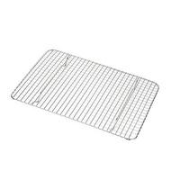 烤網工具長方形鐵絲網格304不銹鋼燒烤網烤箱小網片加粗加密用片