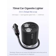 Xiaomi 70mai Car Socket Splitter USB Auto Power Adapter Charger Plug splitter