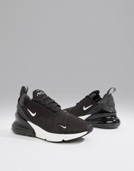 나이키 Nike Air Max 270 in black and white