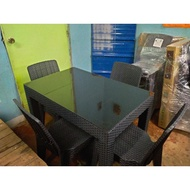 Dining Set Table and Chair (2Seaters, 4 seaters, and 6 Seaters)
