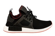(adidas) ADIDAS Men s NMD_XR1, Core Black/Core Black/Solar Red, 8.5 M US-BY9924