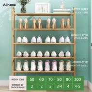 Shoe Rack Bamboo Wooden Rack bench Shoes Cabinet