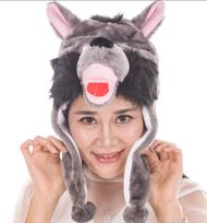 東區派對-動物帽/野狼帽/大野狼帽子 (1)