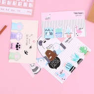 1Set Kawaii Cat Paw Magnetic Bookmarks Books Marker of Page School Office Supply