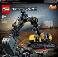 華泰玩具 Tech-重型挖土機/LEGO42121 動力系列 樂高積木