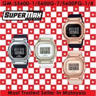 Casio G-SHOCK Mini-GSHOCK Metal GM-S5600-1 / GM-S5600G-7 / GM-S5600PG-1 / GM-S5600PG-4 100% Original