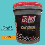Run Drift 15W-40 CK-4 18 Liters For Diesel Heavy Duty Commercial Car Engine Oil