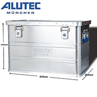 台灣總代理 德國ALUTEC輕量化鋁箱 工具 露營收納 RV桶 椅子 68L