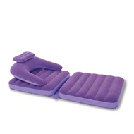 Lazy sofa bed Inflatable folding chair Single creative promotional gift sofa
