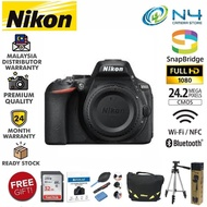 Nikon D5600 DSLR Camera (Body Only) + 32gb Memory Card + Screen Protector + Blower & Lens Pen Set + DSLR Bag + Tripod