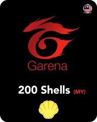 (Auto) Garena Shell 200 (MY) 【GameCities】