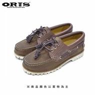 【oris 帆船鞋】ORIS真皮烙印帆船鞋-棕/男女款-888C08(真皮/手工/帆船鞋)