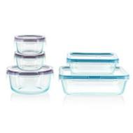 Snapware Total Solution Glass Storage Set, 10 Piece