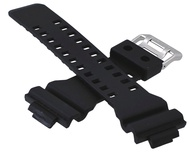 Mens G-Shock Resin Replacement Watch Band Black